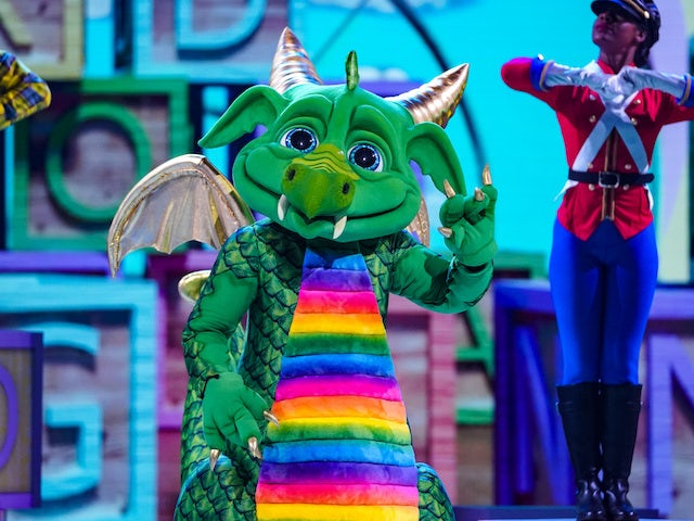 Dragon on The Masked Singer S02E01