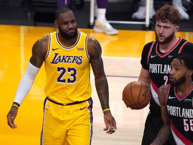 NBA roundup: LeBron's Lakers fall to Portland as Grizzlies claim first win