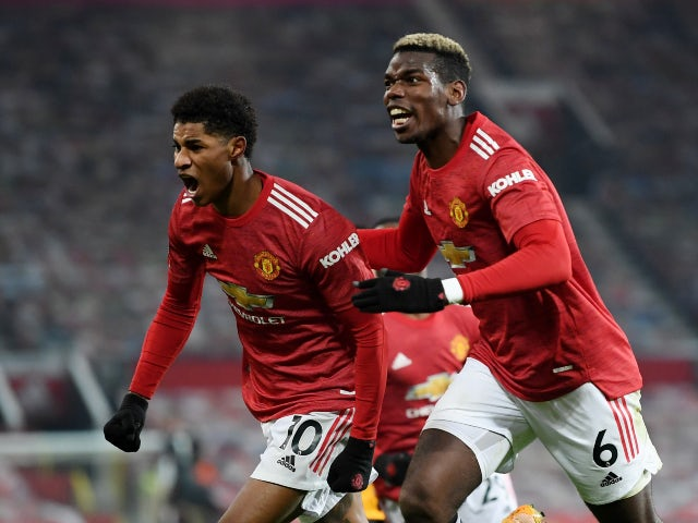 Rashford 'trying to convince Pogba to stay at Man United'