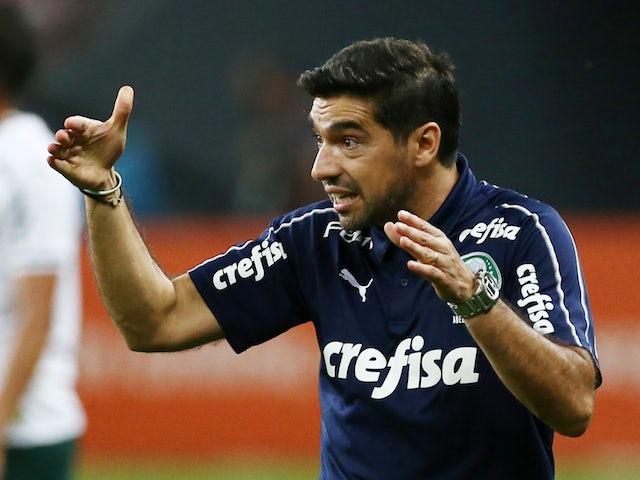 Palmeiras coach Abel Ferreira during the match in December 2020