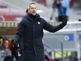 Eintracht Frankfurt coach Adi Hutter pictured on January 9, 2021