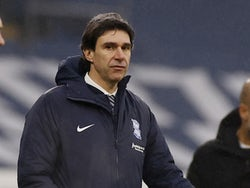Birmingham City manager Aitor Karanka pictured on January 10, 2021