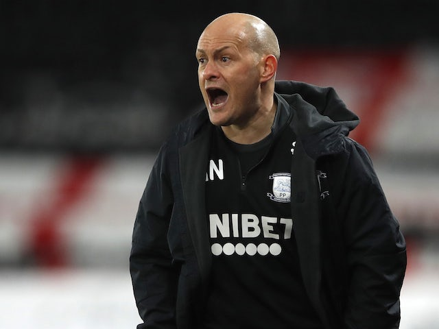 Preston North End manager Alex Neil pictured in December 2020