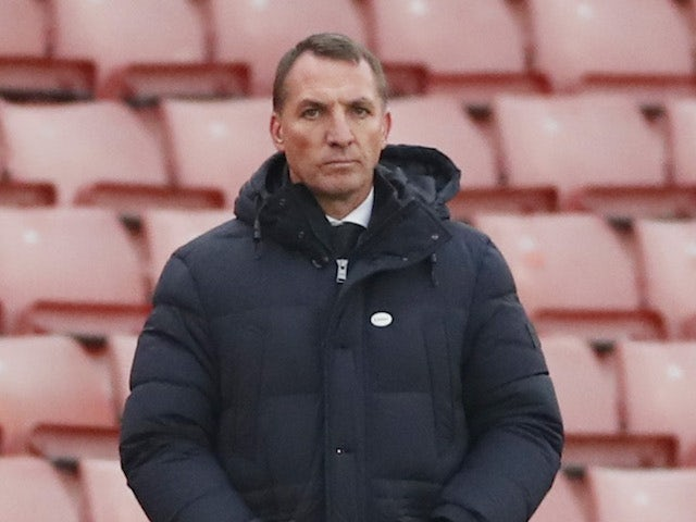 Leicester City manager Brendan Rodgers pictured on January 9, 2021