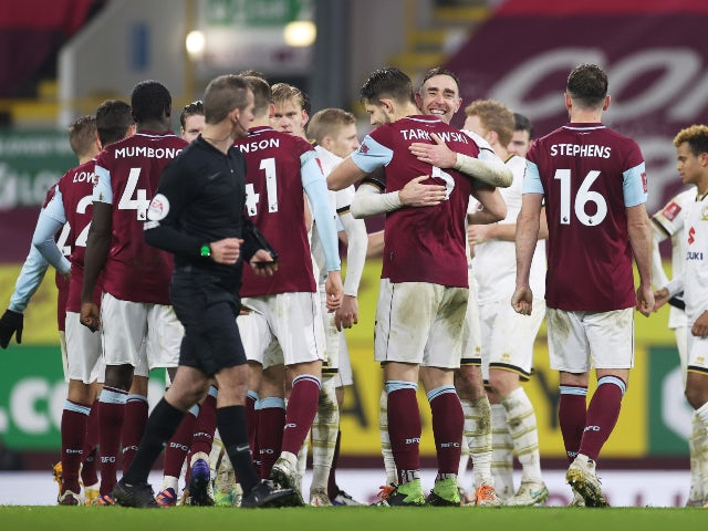 Result: Burnley avoid FA Cup giant killing as MK Dons bow out on penalties