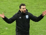 Huddersfield Town manager Carlos Corberan pictured in December 2020
