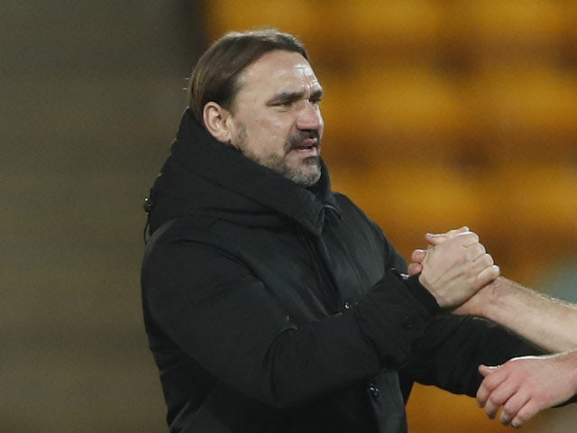 Norwich City manager Daniel Farke pictured in January 2021