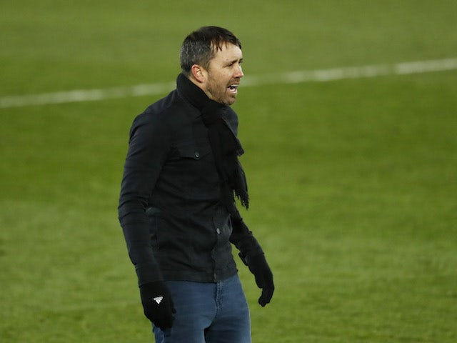 Celta Vigo head coach Eduardo Coudet pictured in January 2021