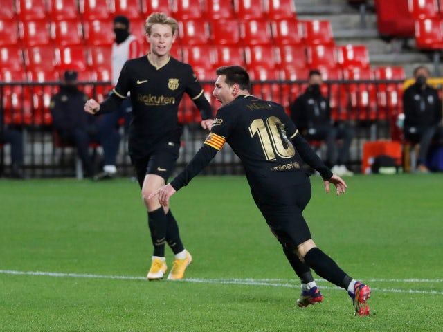 Lionel Messi sets new La Liga scoring record