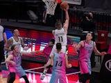 Boston Celtics guard Payton Pritchard in action against the Miami Heat on January 6, 2021