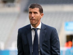 Javi Gracia, now in charge of Valencia, pictured in August 2019