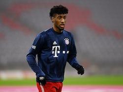 Bayern Munich forward Kingsley Coman pictured in December 2020