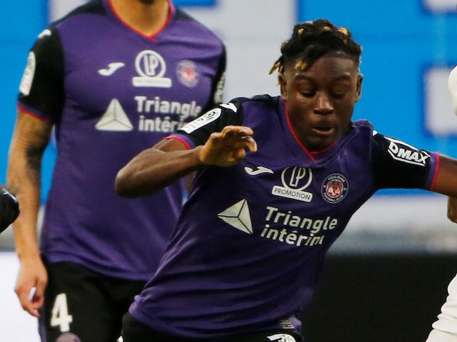 Toulouse's Kouadio Kone pictured in January 2020