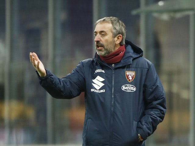Torino coach Marco Giampaolo reacts on January 9, 2021