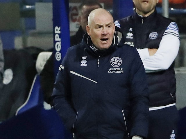 Queens Park Rangers QPR manager Mark Warburton pictured in December 2020