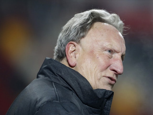 Middlesbrough manager Neil Warnock pictured on January 9, 2021