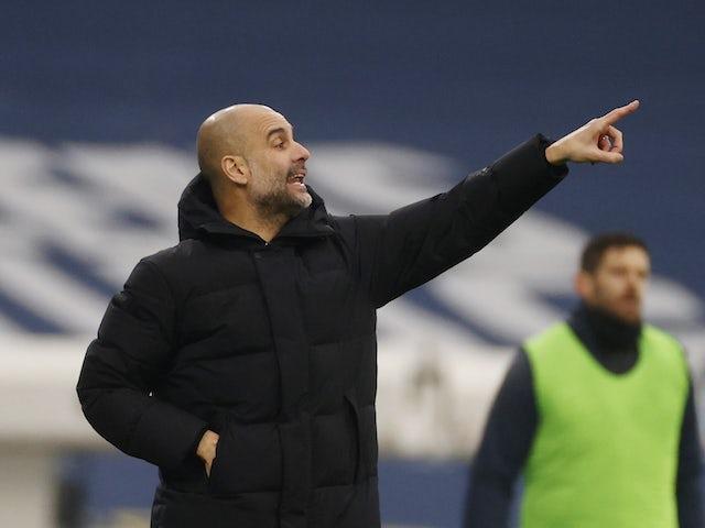 Pep Guardiola: 'Sergio Aguero is currently self-isolating'