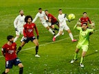 Result: Real Madrid miss chance to go top with Osasuna stalemate