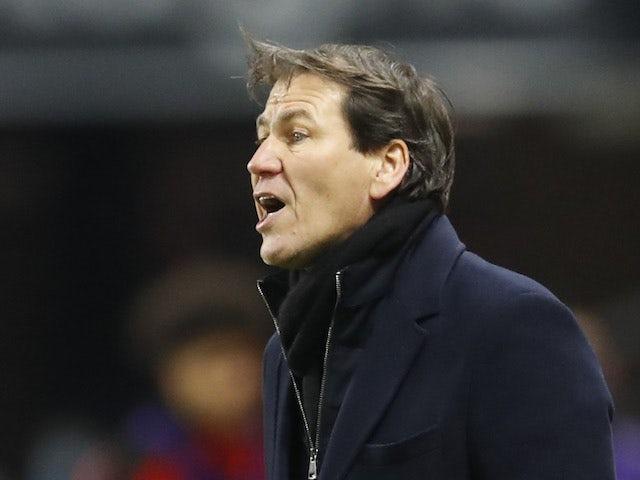 Lyon head coach Rudi Garcia pictured on January 9, 2021