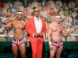 RuPaul and the Brit Crew on RuPaul's Drag Race UK series two