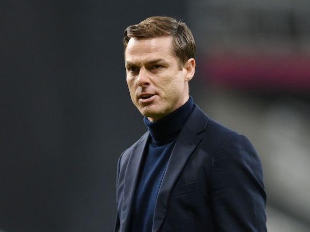 Fulham manager Scott Parker pictured in December 2020