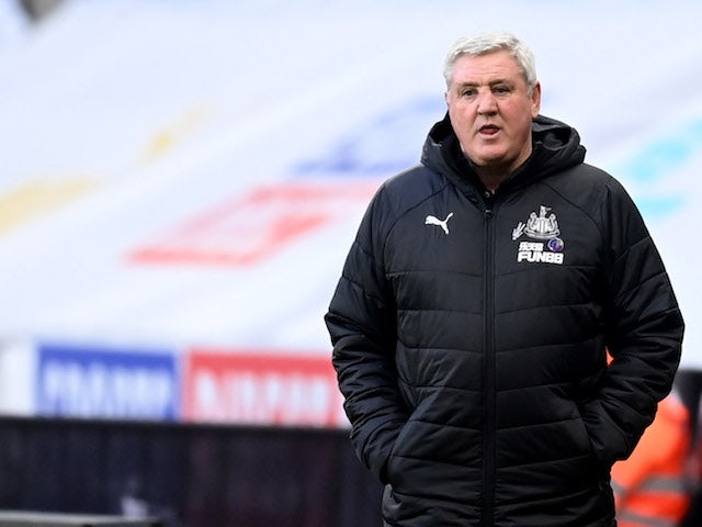 Newcastle United manager Steve Bruce pictured in January 2021
