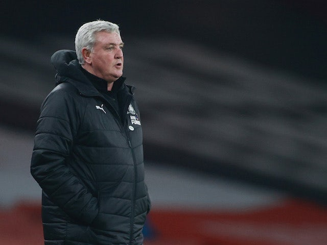 Bruce 'not in danger of being sacked by Newcastle'