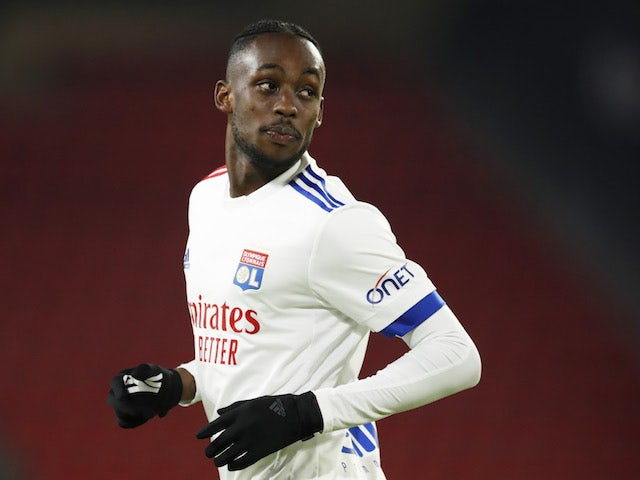 Lyon's Tino Kadewere pictured on January 9, 2021
