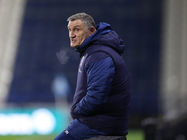 Blackburn Rovers manager Tony Mowbray pictured in December 2020