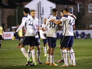 Tottenham net five against eighth-tier Marine in FA Cup third round