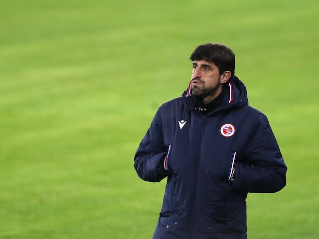 Reading manager Veljko Paunovic pictured in December 2020