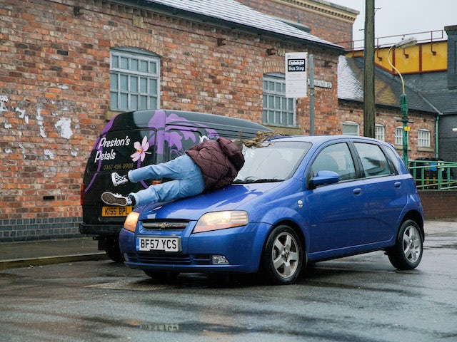 Summer on the second episode of Coronation Street on February 1, 2021