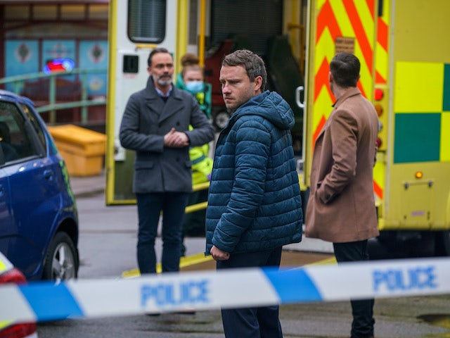 Paul, Billy and Todd on the second episode of Coronation Street on February 1, 2021