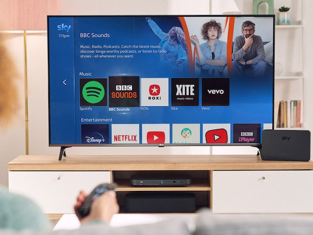 BBC Sounds app launches on Sky Q