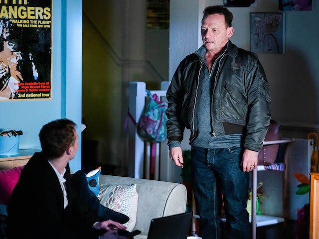 Billy and Jay on EastEnders on January 18, 2021