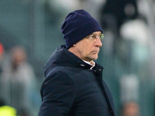 Davide Ballardini, now in charge of Genoa, pictured in January 2018