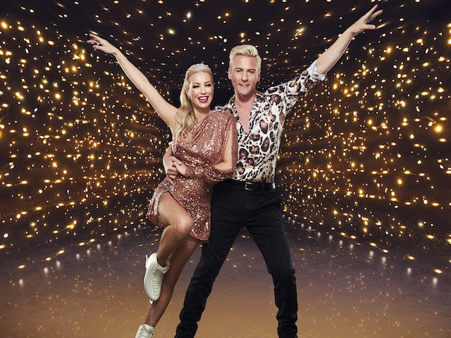 Denise Van Outen and Matt Evers for Dancing On Ice series 13