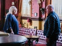 Sharon and Phil on EastEnders on January 19, 2021