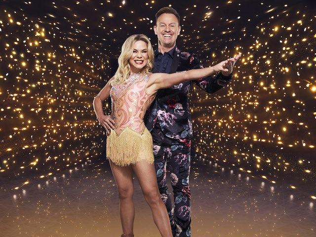 Jason Donovan and Alexandra Schauman for Dancing On Ice series 13