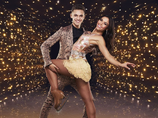 Joe-Warren Plant and Vanessa Bauer for Dancing On Ice series 13