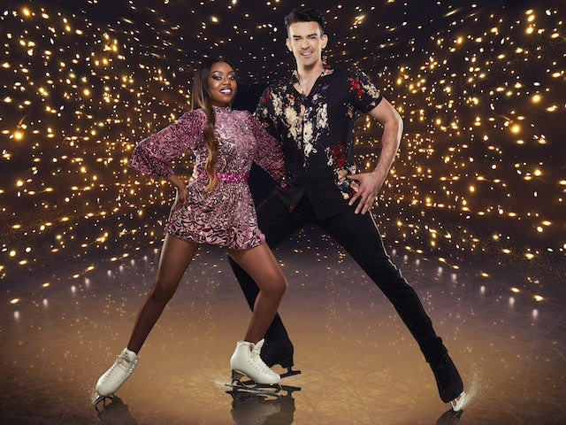 Lady Leshurr and Brendyn Hatfield for Dancing On Ice series 13