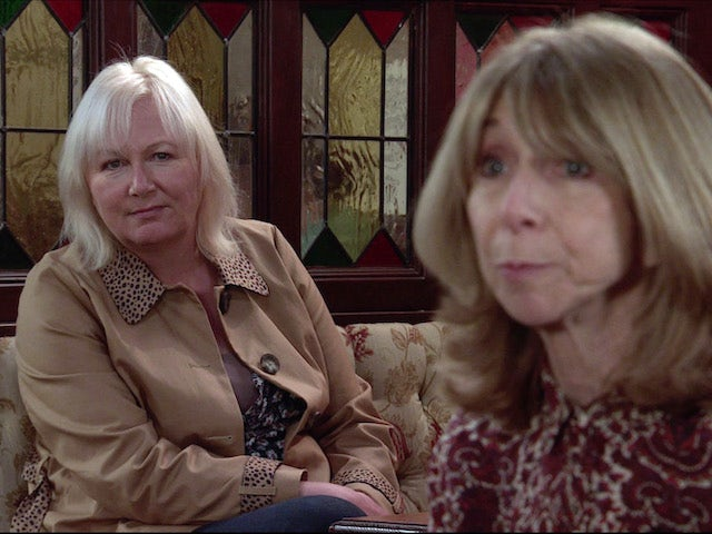 Eileen and Gail on the second episode of Coronation Street on January 27, 2021