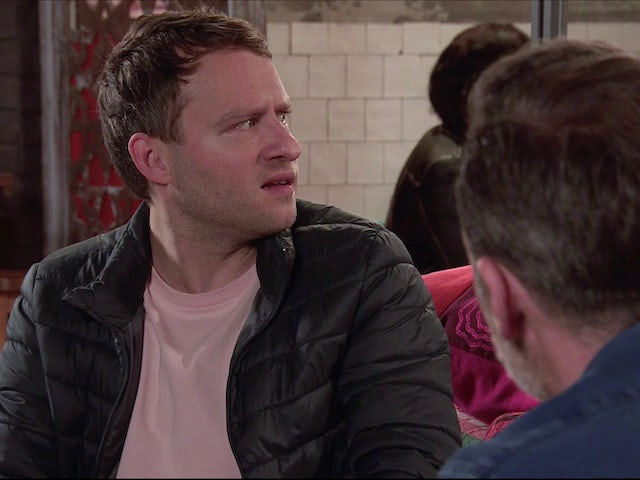 Paul on the first episode of Coronation Street on January 27, 2021