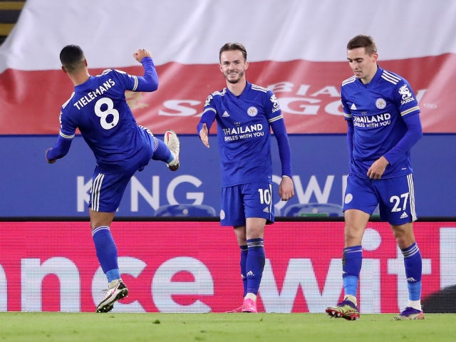 Result: Leicester rise above Liverpool with victory over Southampton