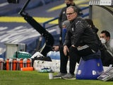 Leeds United manager Marcelo Bielsa pictured on January 16, 2021