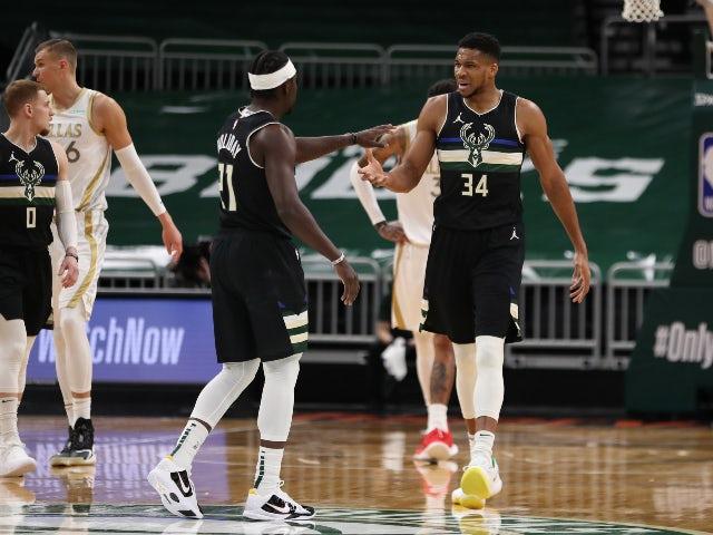 NBA roundup: Bucks edge past Mavericks, Cleveland end losing streak