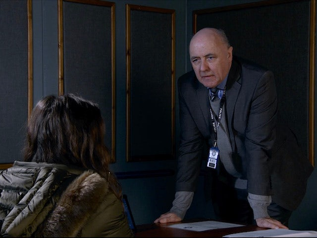 Mr Policeman on the second episode of Coronation Street on January 18, 2021