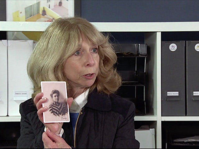 Gail on the first episode of Coronation Street on January 25, 2021