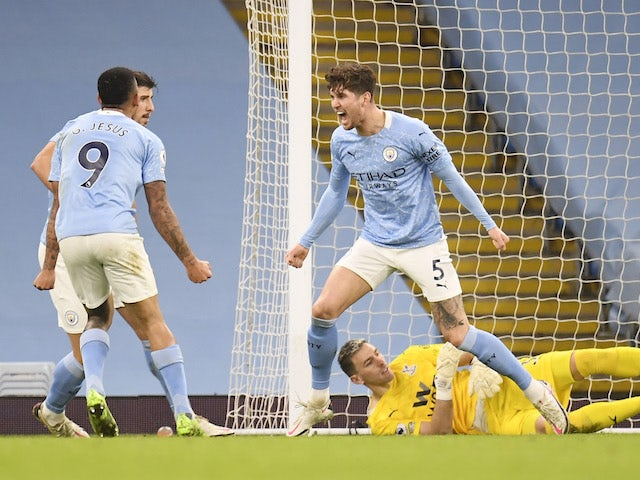 Pep Guardiola: 'John Stones deserves huge praise'