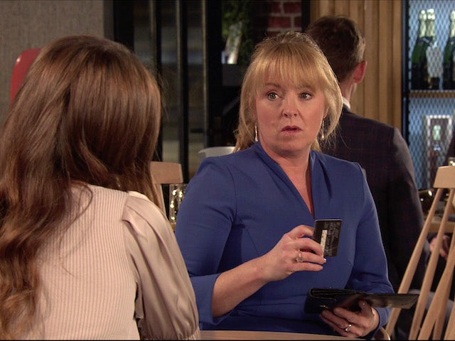 Jenny on the second episode of Coronation Street on February 3, 2021